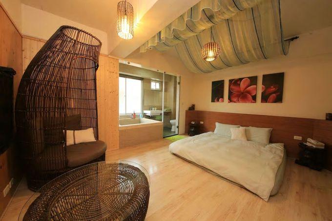 まるでバリのリゾートホテル!?/台南市