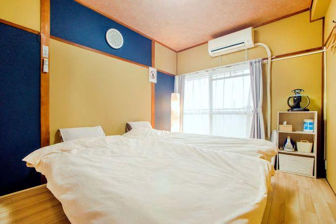 お部屋は洋風と和風の2つ、屋上からは夜景も/名古屋市