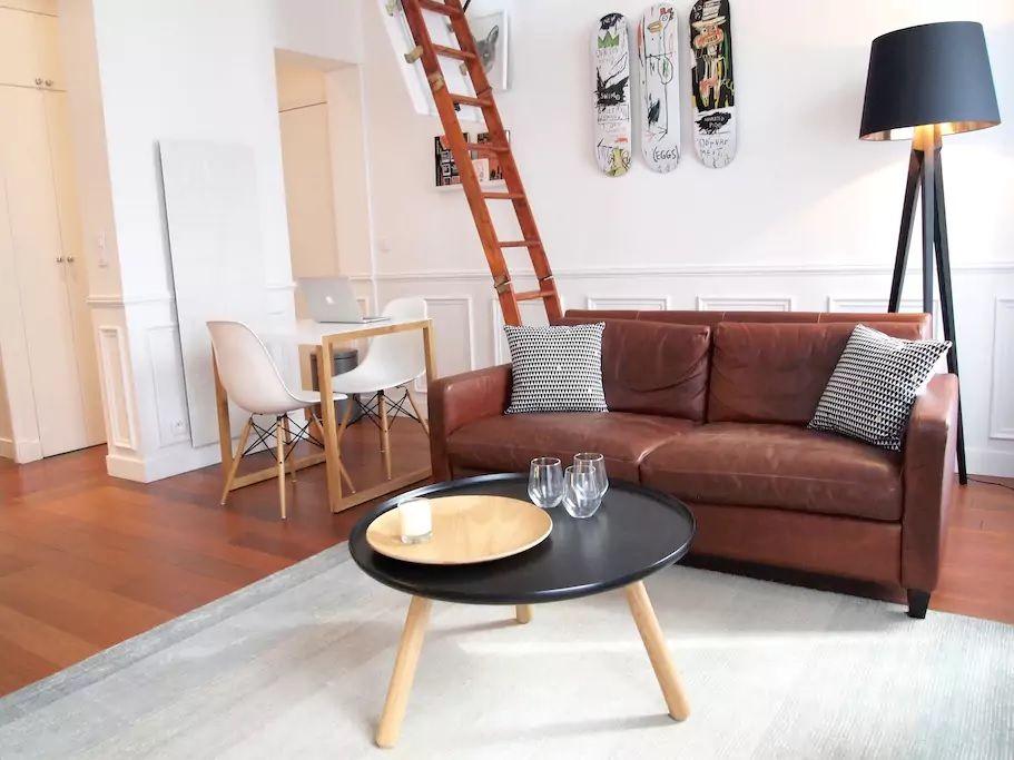 5.ロフト付き!広さ充分の素敵な貸切アパート/マレ地区