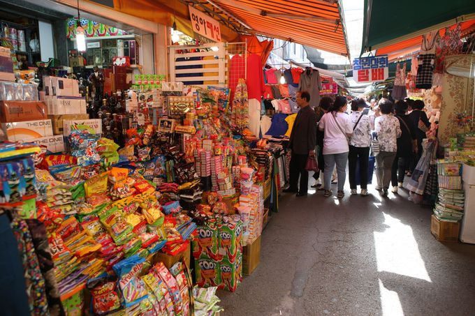 「富平カントン市場」で韓国B級グルメを堪能!