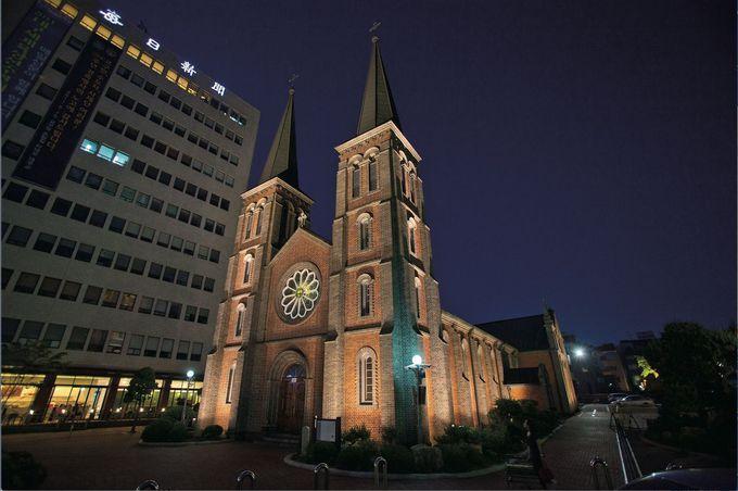 韓国3大聖堂と言われる「桂山聖堂」